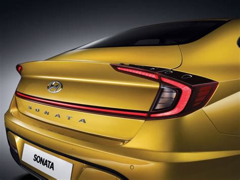 2020 Hyundai Sonata Yellow by 2020 Hyundai Sonata Revealed With Coupe Like Styling Paul
