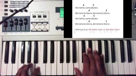 tutorial piano como zaqueo como dijiste christine d clario piano tutorial youtube