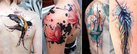 cool watercolor tattoos cool watercolor tattoos 2017 designsmag