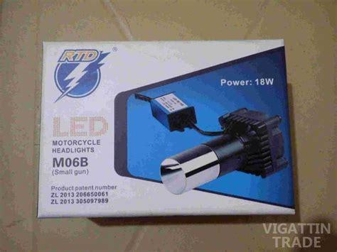Led Rtd rtd led headlight for motorcycle vigattin trade