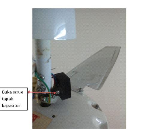 kapasitor kipas siling rosak tak perlu beli kipas baru hanya belanja rm1 je kipas berpusing laju macam baru malaysia