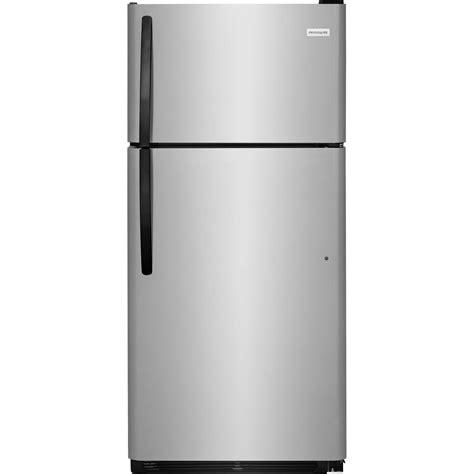 frigidaire 16 cu ft top freezer refrigerator in white