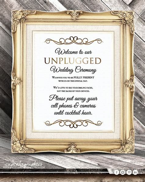 Wedding Ceremony No Phones by Best 25 No Cell Phones Ideas On