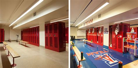 high school locker room nationals outfielder bryce and gatorade team up for makeover of anacostia high school