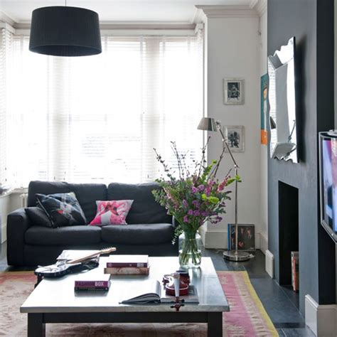 black and pink living room black and white living room living room idea housetohome co uk