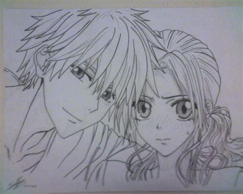 imagenes kawaii a blanco y negro anime world usui y misa kaichou wa maid sama