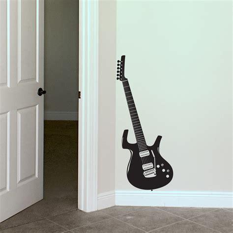 guitar wall stickers guitar wall decals 2017 grasscloth wallpaper