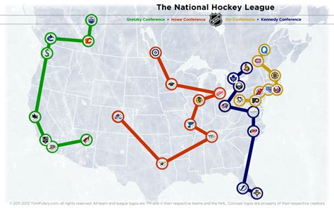 nhl map nhl realignment project archives the home of the nhl realignment project the home of the nhl