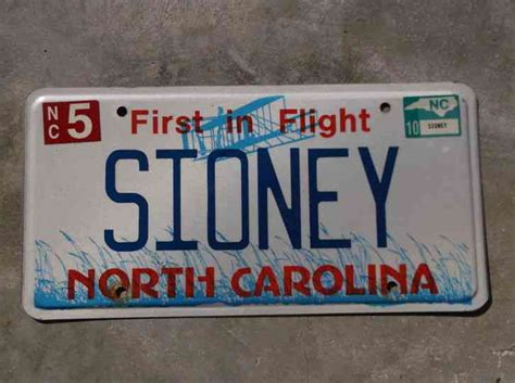 Nc Vanity Plates by Carolina Cape Lookout Lighthouse Coresound Nc