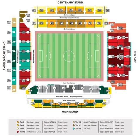 stand seating plan liverpool football stadium 2017 2018 best cars reviews