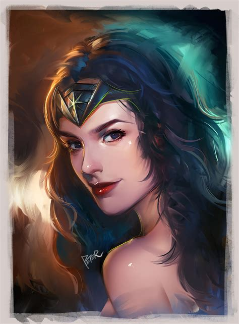wonder woman by superschool48 on