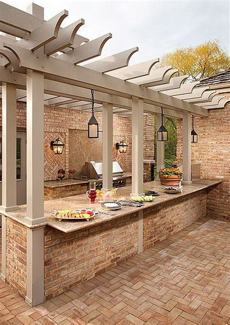 Backyard Kitchen Design by 25 Cool And Practical Outdoor Kitchen Ideas Patio