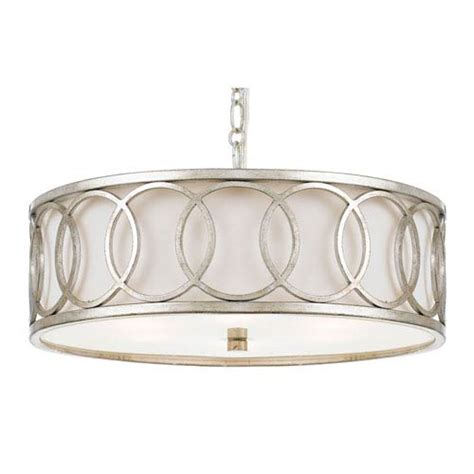 mill mason lighting mill mason mulberry antique silver six light drum
