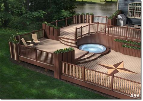 Ultra Decking by Ultra Deck Vs Trex Deck Design And Ideas