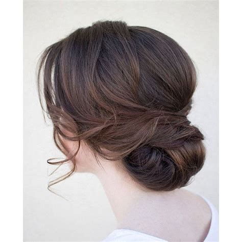 updo hairstyle tools 20 low updo hair styles for brides liked on polyvore
