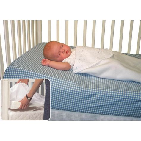 Wedge To Elevate Crib Mattress by Jolly Jumper Crib Wedge