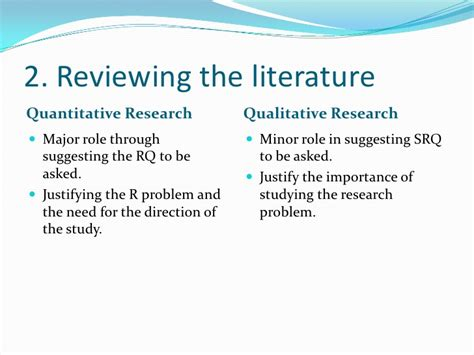 Research Literature Review Guidelines by The Importance Of Literature Review In Qualitative Research
