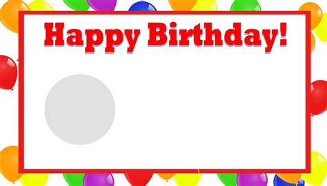 Birthday Card Template by Happy Birthday Template Word Shatterlion Info