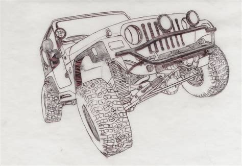 Jeep Wrangler Drawing The World S Catalog Of Ideas