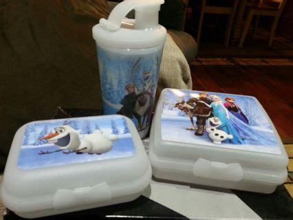 Tupperware Frozen Set Free Tupperware Frozen Lunch Set 3pc Set Brand New Free Shipping Item Kitchen
