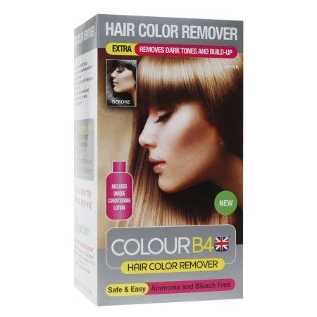 remove hair color colour b4 hair color remover kit walgreens