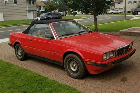 barn find  mud  maserati biturbo spyder