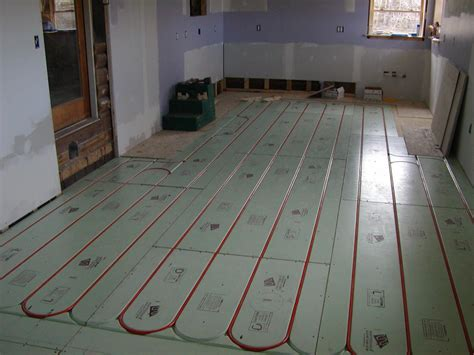radiant heat basement floor home design