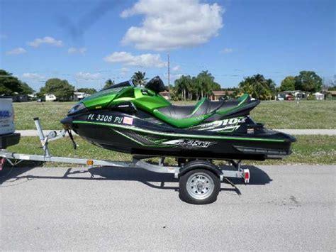 kawasaki jet ski boat sales kawasaki jet ski ultra 310lx boats for sale in pompano