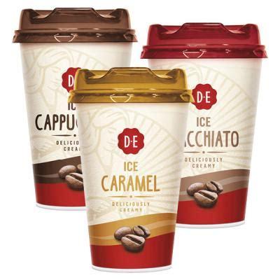 douwe egberts koffie hoogvliet douwe egberts ice coffee aanbieding week 20 2017 hoogvliet