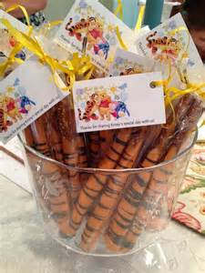 tigger tails for a winnie the pooh themed baby shower