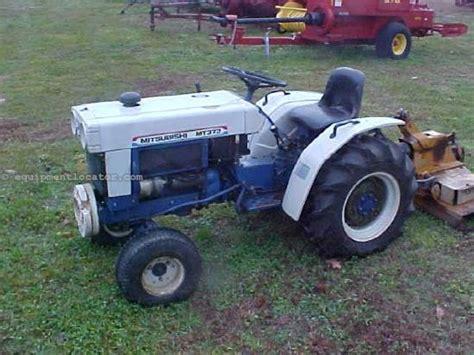 Mitsubishi Tractor For Sale Mitsubishi Mt372 Tractor For Sale At Equipmentlocator