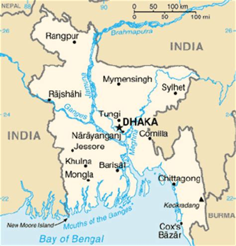 geographical map of bangladesh bangladesh geography