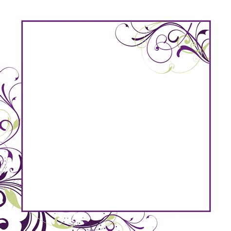 Blank Wedding Invitation Paper Template Best Template Collection Invitation Templates