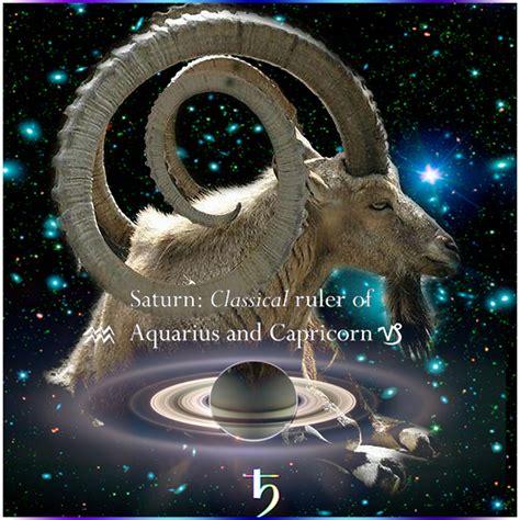 ruling planet saturn capricornus the highest climber of the zodiac