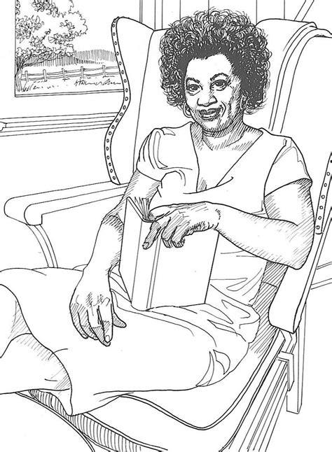 Free African American Children Coloring Pages Black Coloring Pages