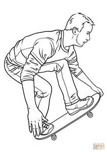 skate coloring pages skateboarding coloring page free printable coloring pages