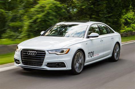 Audi A 6 Tdi 2014 audi a6 tdi three quarters in motion drivers view photo 8