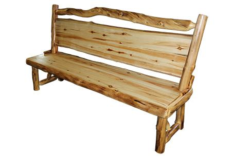 log benches with backs benches with backs rustic log