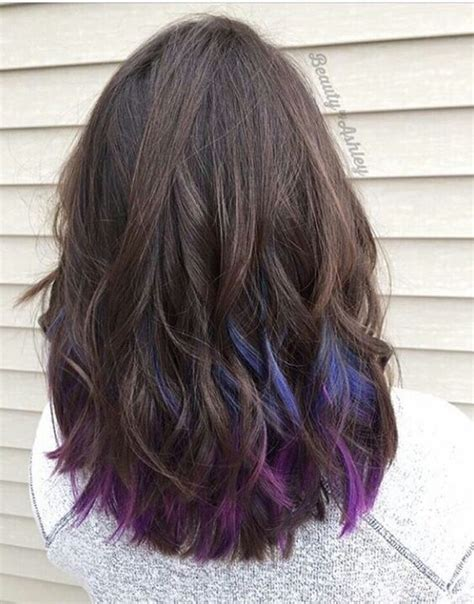 short hairstyles with peekaboo purple layer 1000 ideas about peekaboo color on pinterest inverted
