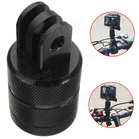 Universal Pivot Arm For Xiaomi Yi And Gopro Aksesoris Kamera Go Pro 1 1 4 Inch Bike Base Mount Adapter 360 Degrees Rotating