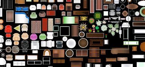 muebles dwg bloques de muebles coloreados en autocad cad 2 08 mb