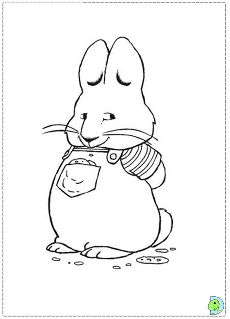max and ruby coloring pages free coloring pages of max and ruby