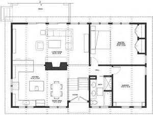 Kitchen And Living Room Floor Plans by Open Floor Plan Kitchen Dining Room And Living Room