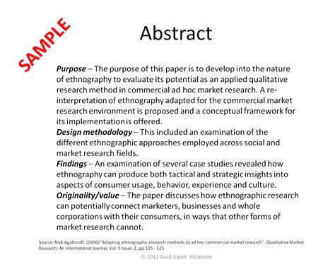 How To Make An Abstract In A Research Paper - class 14 contextual research