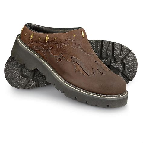 roper shoes womens s roper 174 sport mules brown 175298 casual shoes
