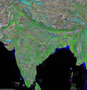 satellite map india map and satellite image