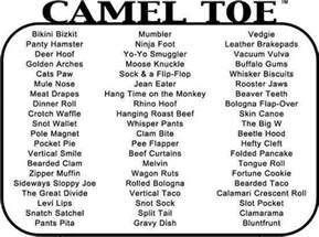 Nicknames For Guys Named Camel Toe Nicknames Stuff For Toe And