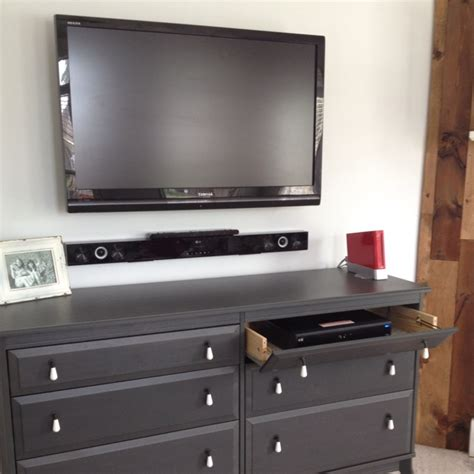 entertainment center with dresser drawers ikea dresser made entertainment center with the top