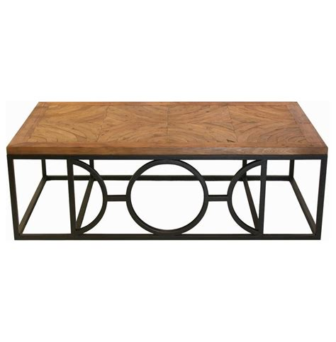 Parquet Coffee Table Circle Parquet Contemporary Wood Coffee Table Kathy Kuo Home