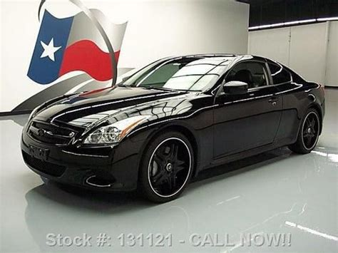 Infinity Auto Roadside Assistance Number by Find Used 2008 Infiniti G37 Sport Coupe 6 Spd Sunroof 20 S